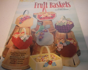 Plastic Canvas - Fruit Baskets