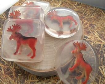 Moose Soap favors / Elk soap favors
