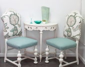 Antique Upholstered Side Chairs