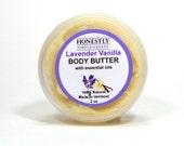Lavender Vanilla 100% Natural Shea and Cocoa Body Butter