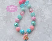 Bubble Guppies Molly, Oona, Deema inspired Chunky Bubblegum Necklace