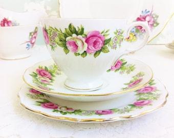 Enchantment Tea Trio, Colclough China
