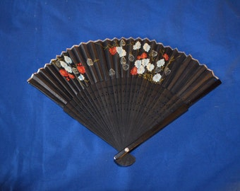 Very Pretty Black Fan from Japan