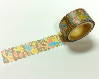 Material Michemon  Tokiiro series Masking Tape / modern MM-MK-014  / 20mm x 5m