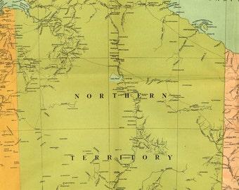Australia 1916 northern territory, Old world maps, Ancient maps, Old world map, Antique world map, Maps, World map, 187