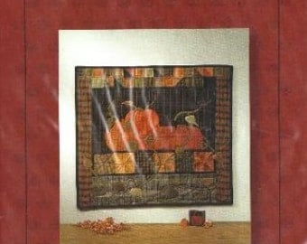 """Fall Harvest - Quilt Pattern to Make 27 1/2"""" x 31"""" Wall Hanging Discontinued by Patchwork Mooon"""