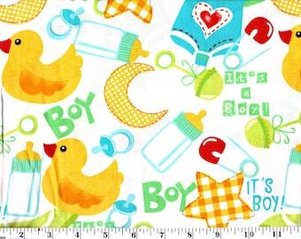 1 Yard, It's a Boy!