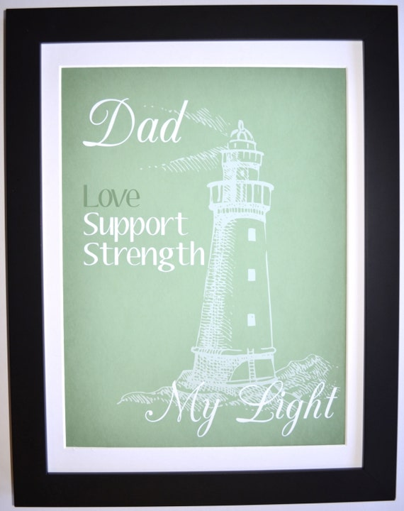 Unique fathers day gift idea for dad personalized by picmats for Creative gifts for dad from daughter