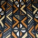 Sale , Authentic Handcrafted mudcloth, brown tan, white, black,  from Mali , West Africa ,  MC40
