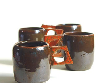 Ceramic Mugs Handmade Pottery