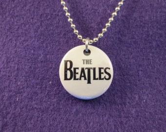 The Beatles pendant/magnet necklace