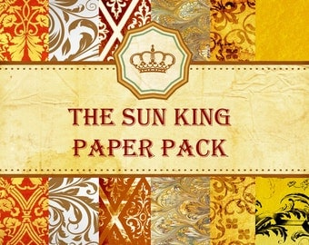 The Sun King Mini Paper Pack