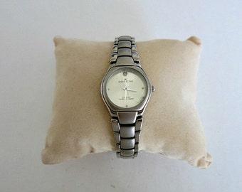Diamond Silver Tone Anne Klein Watch