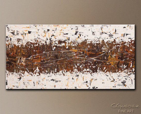 Huge amazing original modern abstract art by cguedez for Large canvas prints for sale