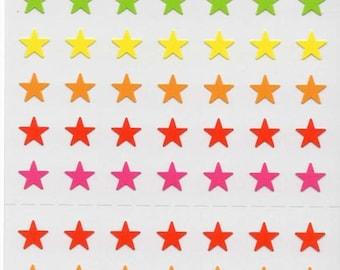 Japan Mind Wave kawaii STARS sticker sheet/750036