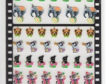 Japan Qlia Photrip kawaii CIRCUS sticker sheet/Schedule,Diary