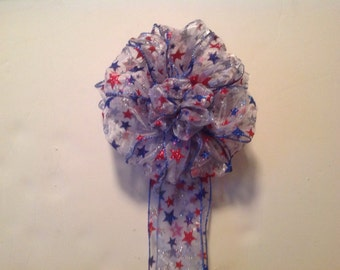 Star Spangled Banner Patriotic 4th of July  decoration for wreath, party,home decor