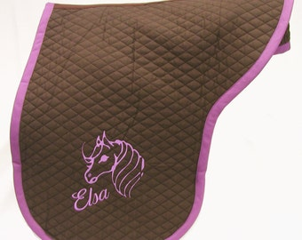 DRESSAGE SADDLE COVER With Custom Embroidery