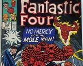 Vintage Fantastic Four Comic Book  Marvel Vol. 1, No. 329, August 1989