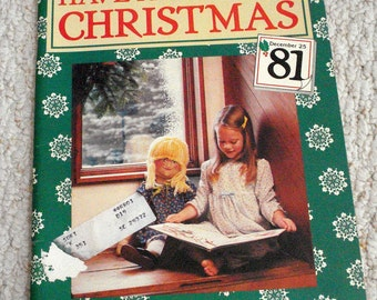 Have a Natural Christmas, Softcover book of Holiday crafts for Children and Adults