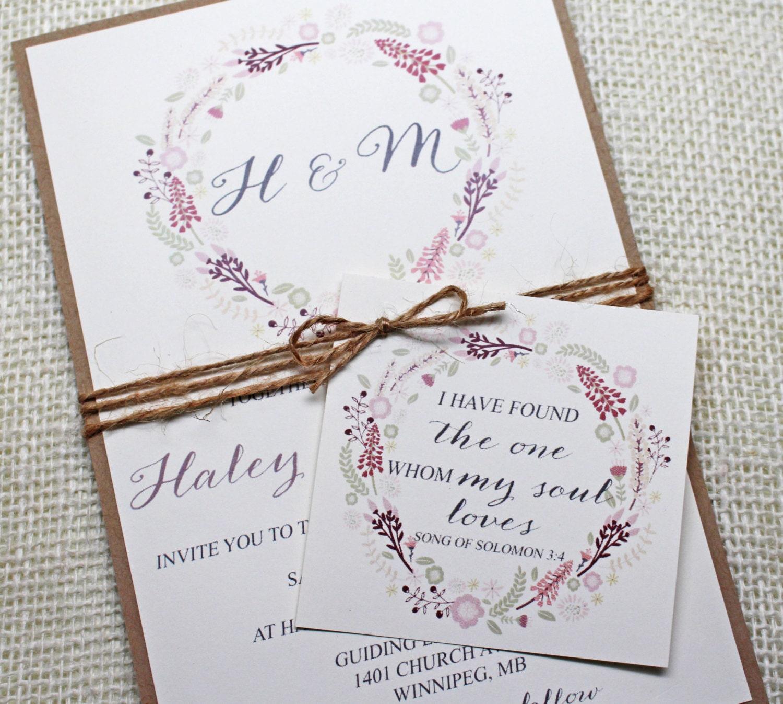 Rustic Wedding Invitations Templates is perfect invitation example