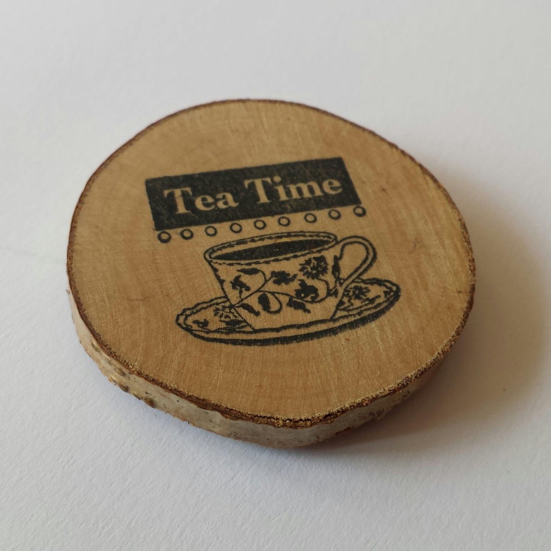 Tea Time Kitchen Themed Fridge Magnet Kitchen Decor