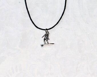 Surfer Guy Necklace / men's jewelry / teen jewelry / boys jewelry / women's jewelry / girls / souvenir / jewelry / women / men