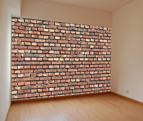 wm528 textured faux brick wall self adhesive by artfeveruk. Black Bedroom Furniture Sets. Home Design Ideas