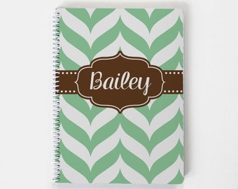 Custom Notebook, Personalized Sketchbook, Personalized Notebook, Personalized Journal, Personalized Diary, Spiral Notebook