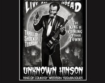 Unknown Hinson - Live & Undead - 11X14 Print Signed by Joel Robinson