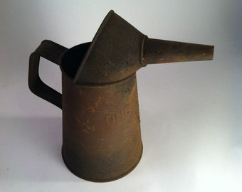 Rusty Oil Can