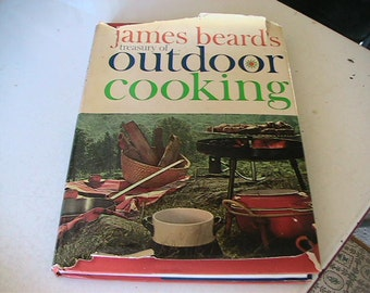 Barbecue Cookbook Vintage James Beards Treasury of Outdoor Cooking Retro BBQ Mid Century Grilling Recipes
