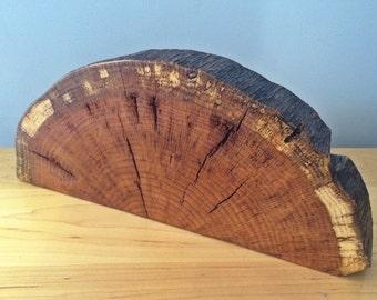 Red Oak Decor Piece