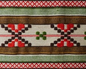 Handwoven traditional Swedish table runner