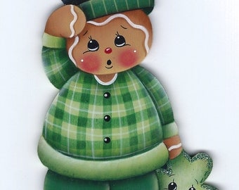 Lucky Little Gingerbread Painting E-Pattern