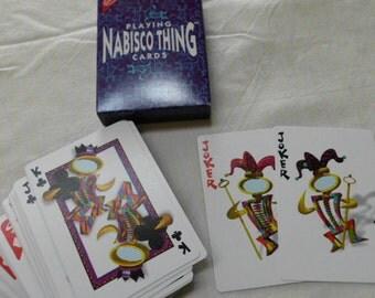 Vintage Nabisco Thing playing cards NIB