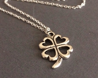 St patrick's day necklace, st. Patrick jewlery, st. Patty necklace, lucky clover necklace, irish necklace