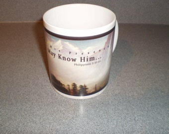 Kenneth Copeland Ministries It is Written Philippians Mug Div. of Harrison House