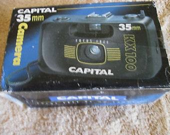 Capital KX100 Camera 35mm in Box C12-1