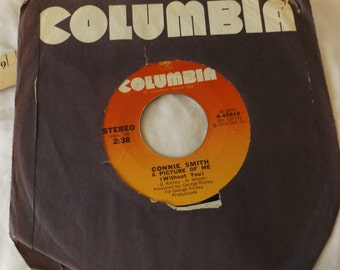 Connie Smith 45RPM Record You've Got Me  A Picture of Me 1973  CL17-38