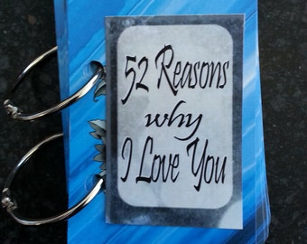 Club Tattoo 52 reasons Why I love you - a creative gift for someone special - READY TO SHIP!