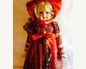 Buddy needs surgery sale Enesco nostalgic dolls Peggy Lynn with tag and stand epsteam