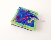 Cute Dragon Coasters, Comical Dragons, Coaster Set, Primary Colors, Kids Coasters