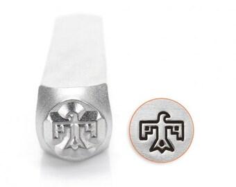 Impress Art 6mm Thunderbird Metal Design Stamp - Metal Stamp - Metal Stamping and Jewelry Tool - SGSC1524-F-6mm