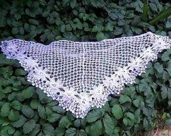 Crochet / Flower Shawl
