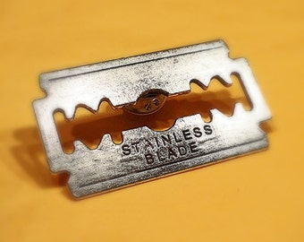 Razor Blade Pin