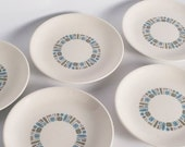 "Set of 5 Temporama 7 1/4"" Plates"