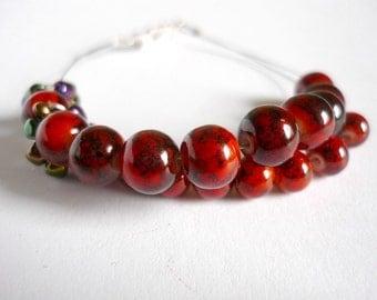 Row counter bracelet for knitting and crochet: abacus bracelet, knitting bracelet, knitter's bracelet - UK seller