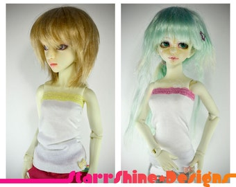 BJD MSD 1/4 Doll clothing - Lace Trimmed Tube Top - Mix and Match Your Own Colors