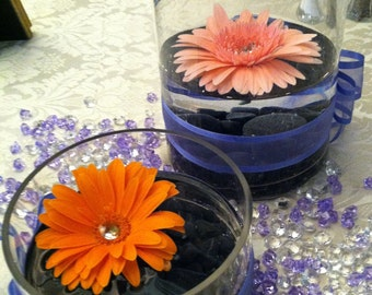 Floating Gerbera Centerpieces